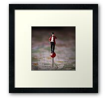 Lost Without Your Mobile Device? Framed Print
