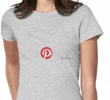 Pinterest: What Problem? Womens Fitted T-Shirt