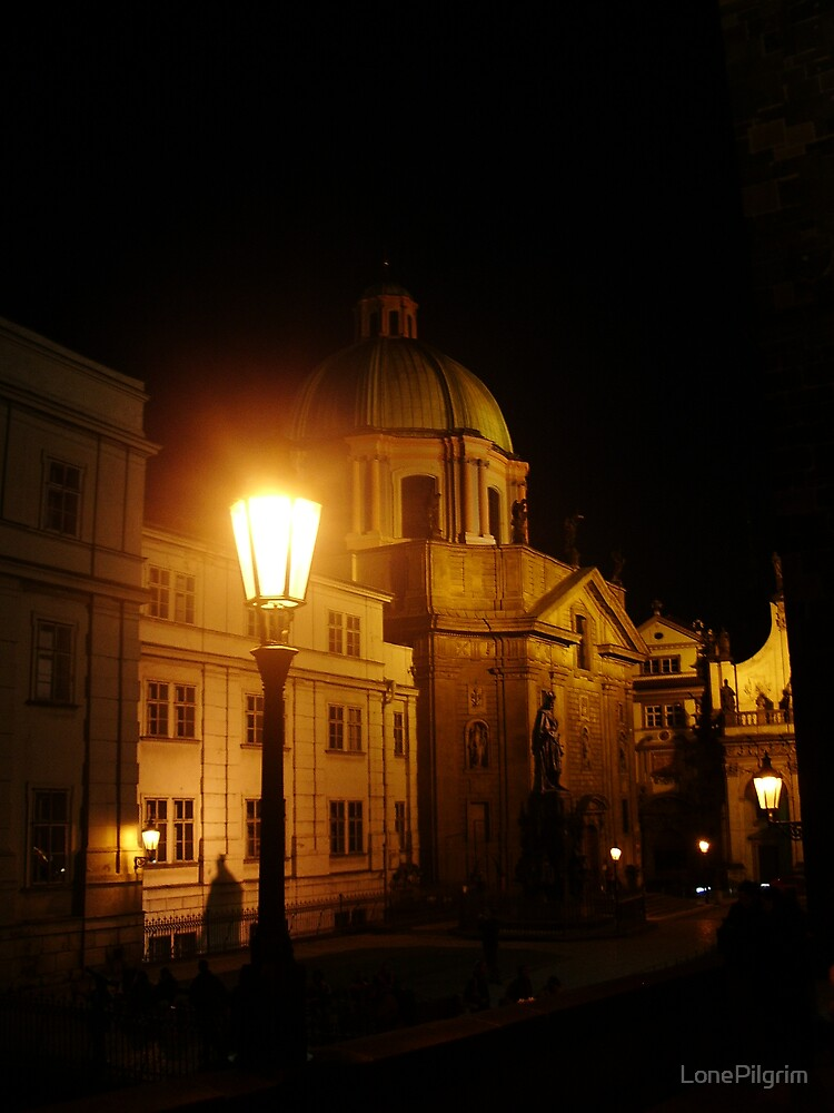 Prague By Night by LonePilgrim