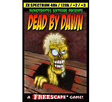 Dead by Dawn ZX Spectrum Game Inlay Art (official) Photographic Print