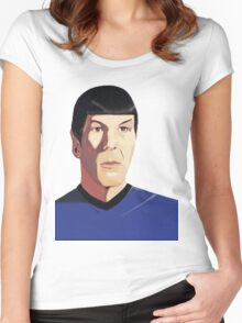 Mr Spock tshirt Women's Fitted Scoop T-Shirt