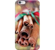 Cinnamon Sticks iPhone Case/Skin