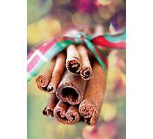 Cinnamon Sticks Photographic Print