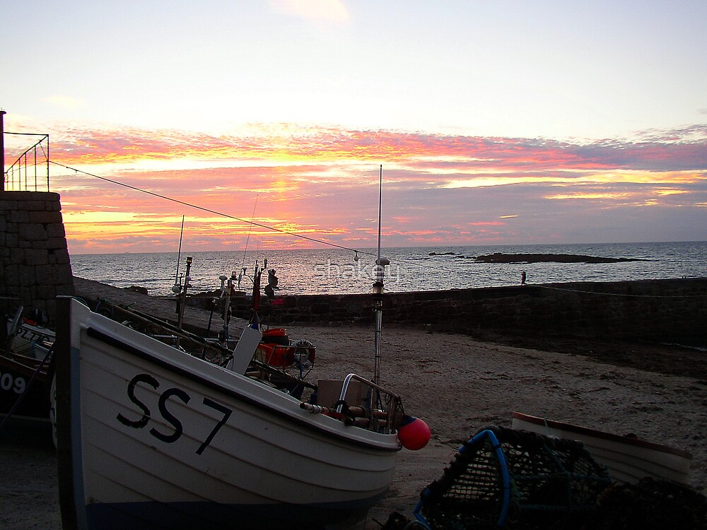 Cornwall sunset by shakey