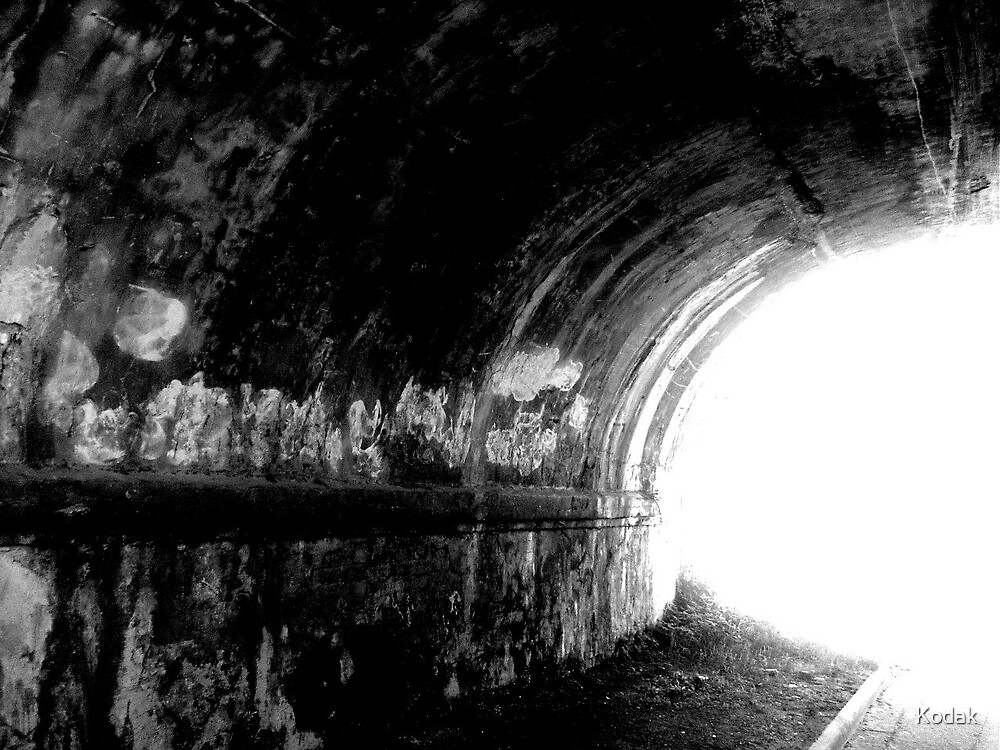 The Light in the Tunnel by Kodak