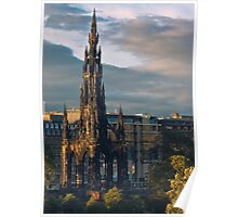 The Scott Monument Poster