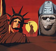 Planet of the Apes montage by Andy  Housham