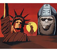 Planet of the Apes montage Photographic Print