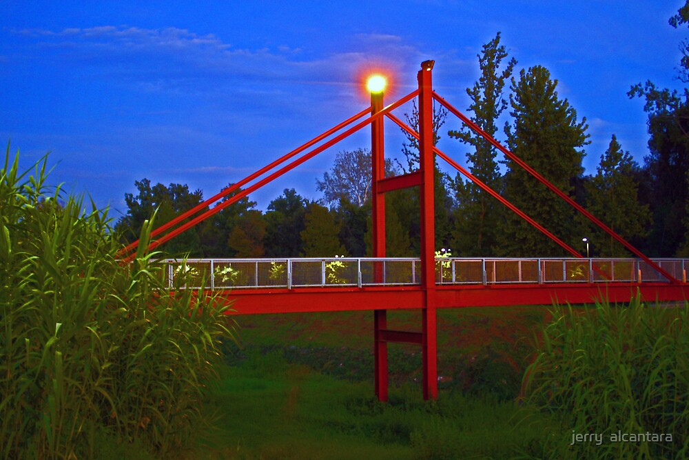 Red Bridge by jerry  alcantara