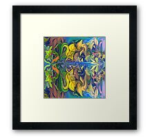 Secret Garden- Abstract-wall art+Clothing & Stickers+Pillows & Totes+Cases+Laptop Skins,Mugs Framed Print
