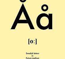 Swedish letter Å by tokyo-kitsune