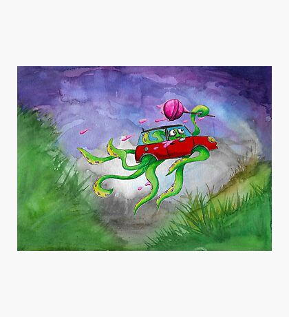 MINI Octo red Photographic Print
