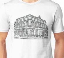 town building black Unisex T-Shirt