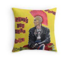Punk & Disorderley Throw Pillow