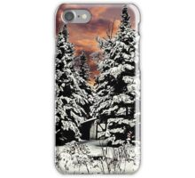 SNOW ON THE PINES iPhone Case/Skin