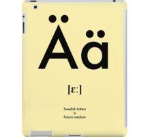 Swedish letter Ä iPad Case/Skin