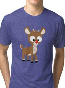Rudolph Tri-blend T-Shirt