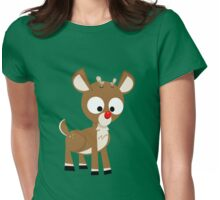 Rudolph Womens Fitted T-Shirt