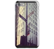 Broadway, Wall street  iPhone Case/Skin