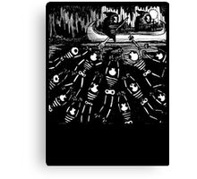 swamp of death Canvas Print