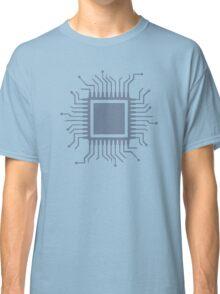 Microchip chip computer Classic T-Shirt