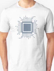 Microchip chip computer Unisex T-Shirt