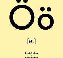 Swedish letter Ö by tokyo-kitsune