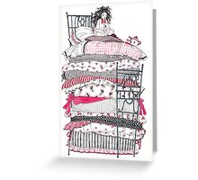 The Princess and the Pea Greeting Card