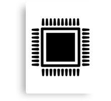 Microchip computer Canvas Print