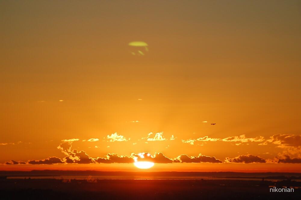 sun rise  by nikonian