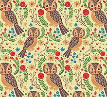 The Classic Horned Owl  by haidishabrina