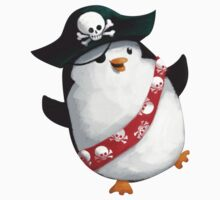 Cute Pirate Penguin T-Shirt