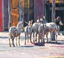 Faux Zebra's by randymir