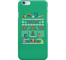 A Super Smash 8-Bit Christmas iPhone Case/Skin
