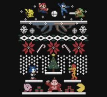 A Super Smash 8-Bit Christmas by kingsrock