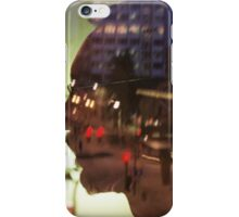 night thoughts iPhone Case/Skin