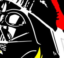 Dub Vader (red-yellow) Sticker