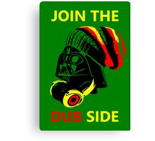 Dub Vader (red-yellow) Canvas Print