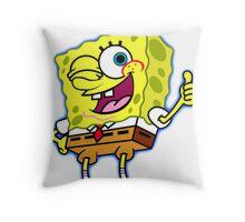 spongebob Throw Pillow