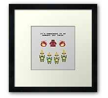 The Legend of Pizza Framed Print