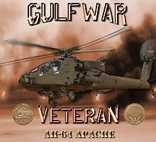 AH-64 Apache Gulf War Veteran by Mil Merchant