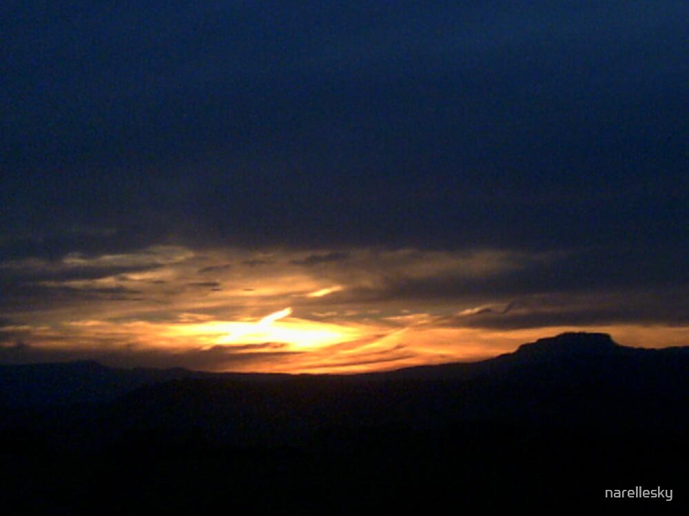 sunset by narellesky