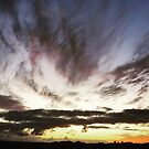 Clouds at Sunset by Judi Rustage