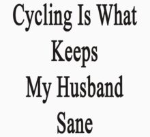 Cycling Is What Keeps My Husband Sane  by supernova23