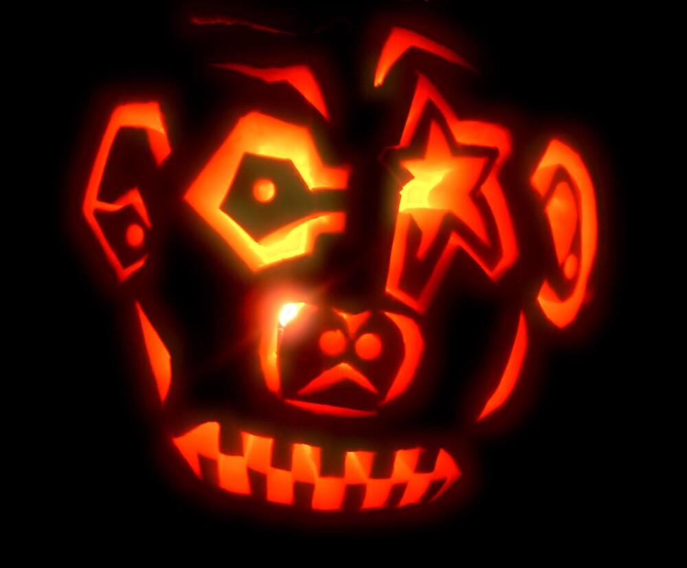 Carved Pumpkin by Erika Benoit