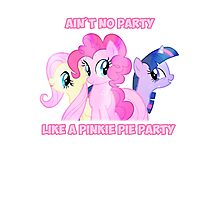 Pinkie Pie's Party Photographic Print
