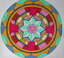 Mandala 1 by Mark  Sutton