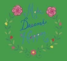 Make Dreams Happen Kids Clothes