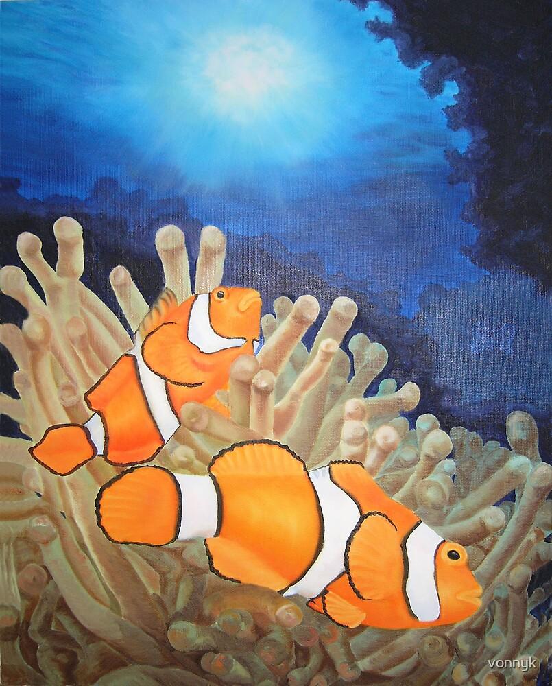 Clown Fish by vonnyk