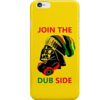 Dub Vader (red-green) iPhone Case/Skin